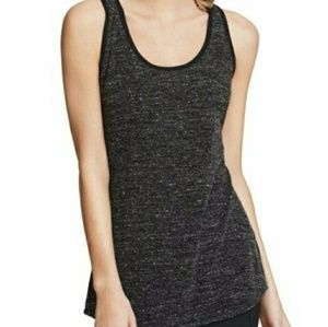 Cabi Glee Tank Top Marbled Gray Racerback Stretch